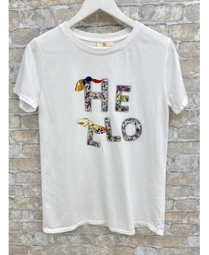 Camiseta HELLO Blanca