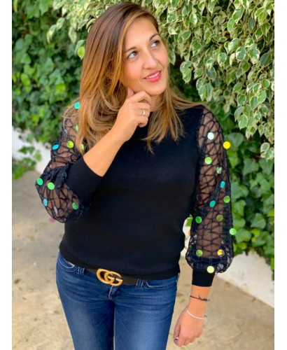 Suéter Susana negro