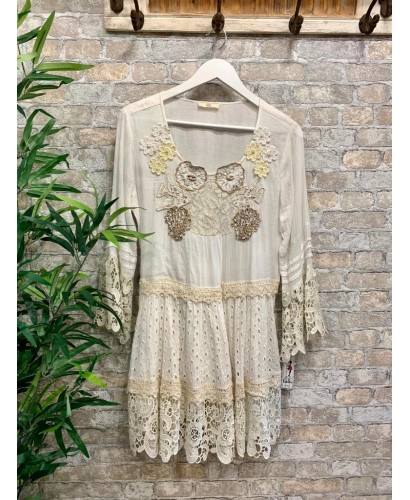 Vestido Menorca boho