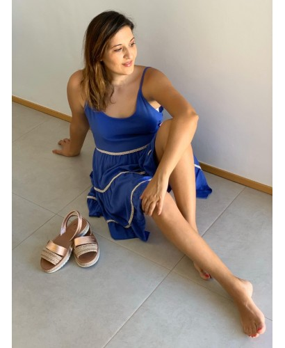 Vestido capricho azul