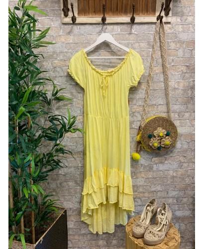 Vestido Tania amarillo
