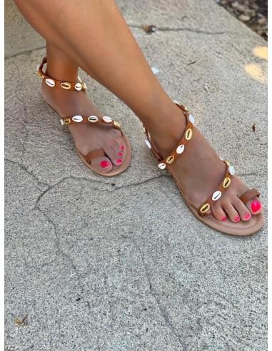 Sandalia conchas